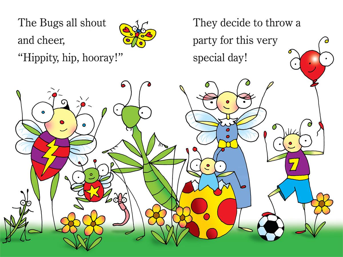 Springtime in bugland! 9781442438903.in01