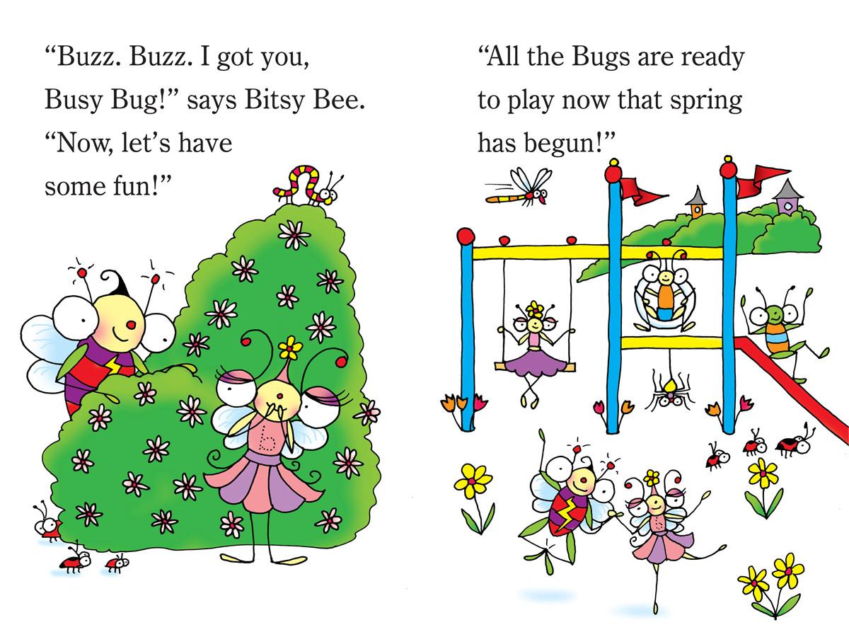 Springtime in bugland! 9781442438903.in02