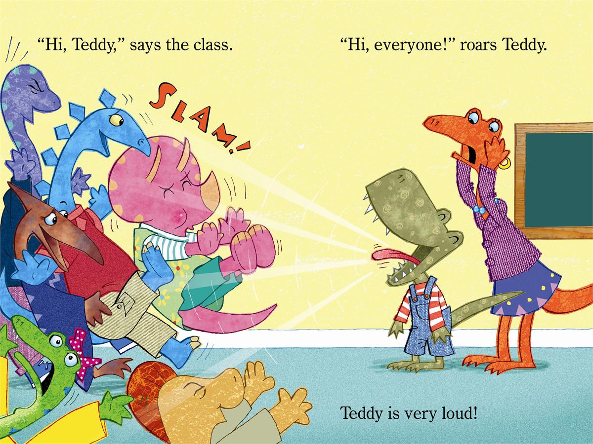 Meet teddy rex! 9781442449954.in01