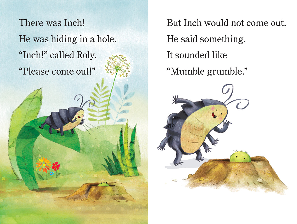 Inch and roly and the very small hiding place 9781442452794.in01