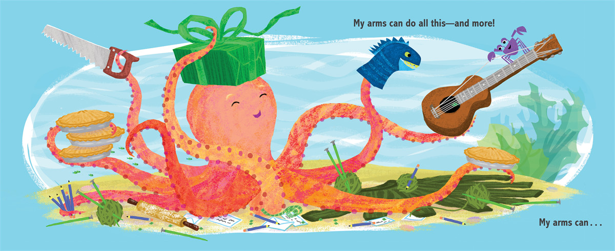 My octopus arms 9781442458437.in02