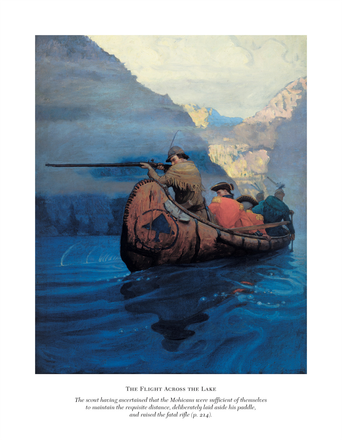 The Last Of The Mohicans Book By James Fenimore Cooper N C Wyeth Official Publisher Page