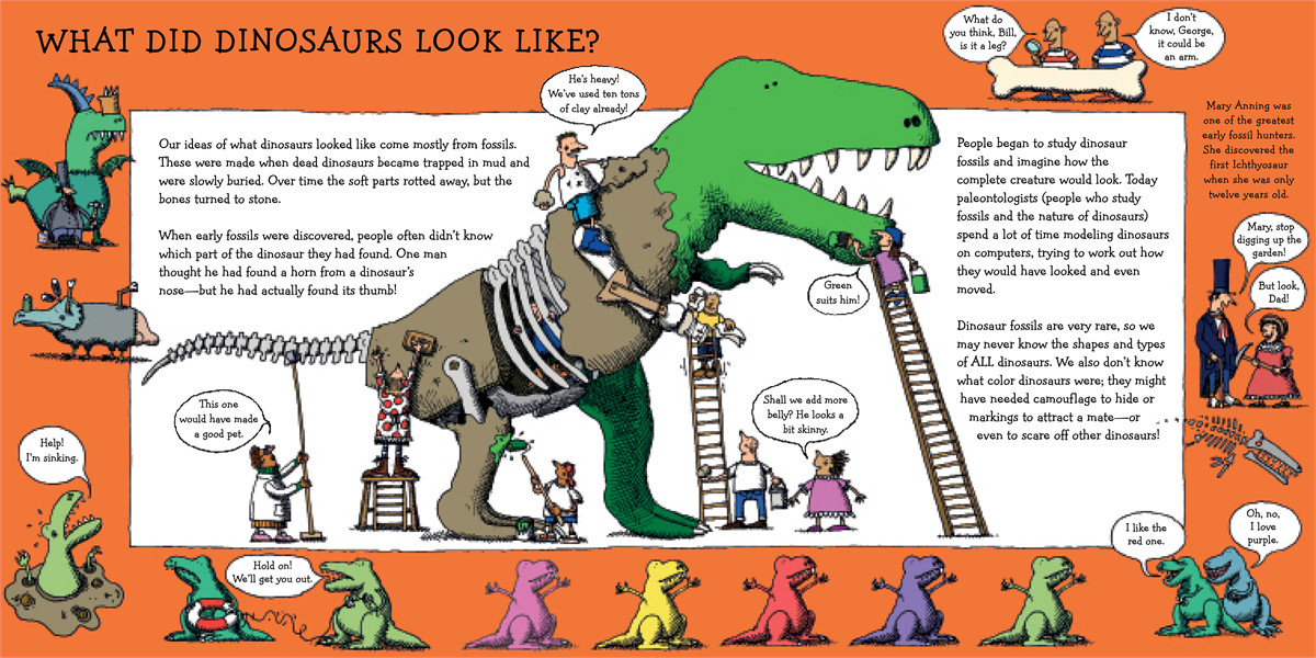 How dinosaurs really work! 9781442482944.in01