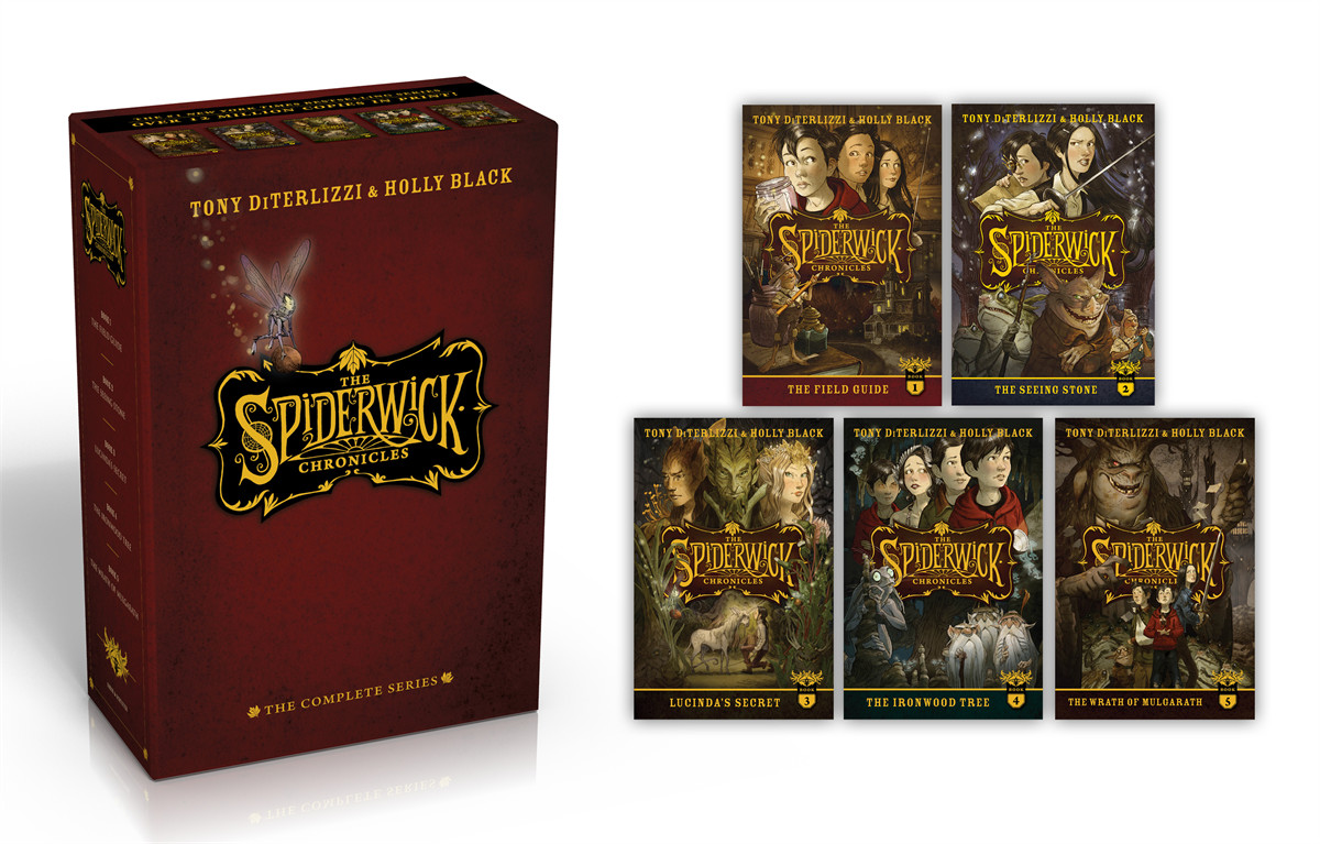 The spiderwick chronicles the complete series 9781442487970.in01