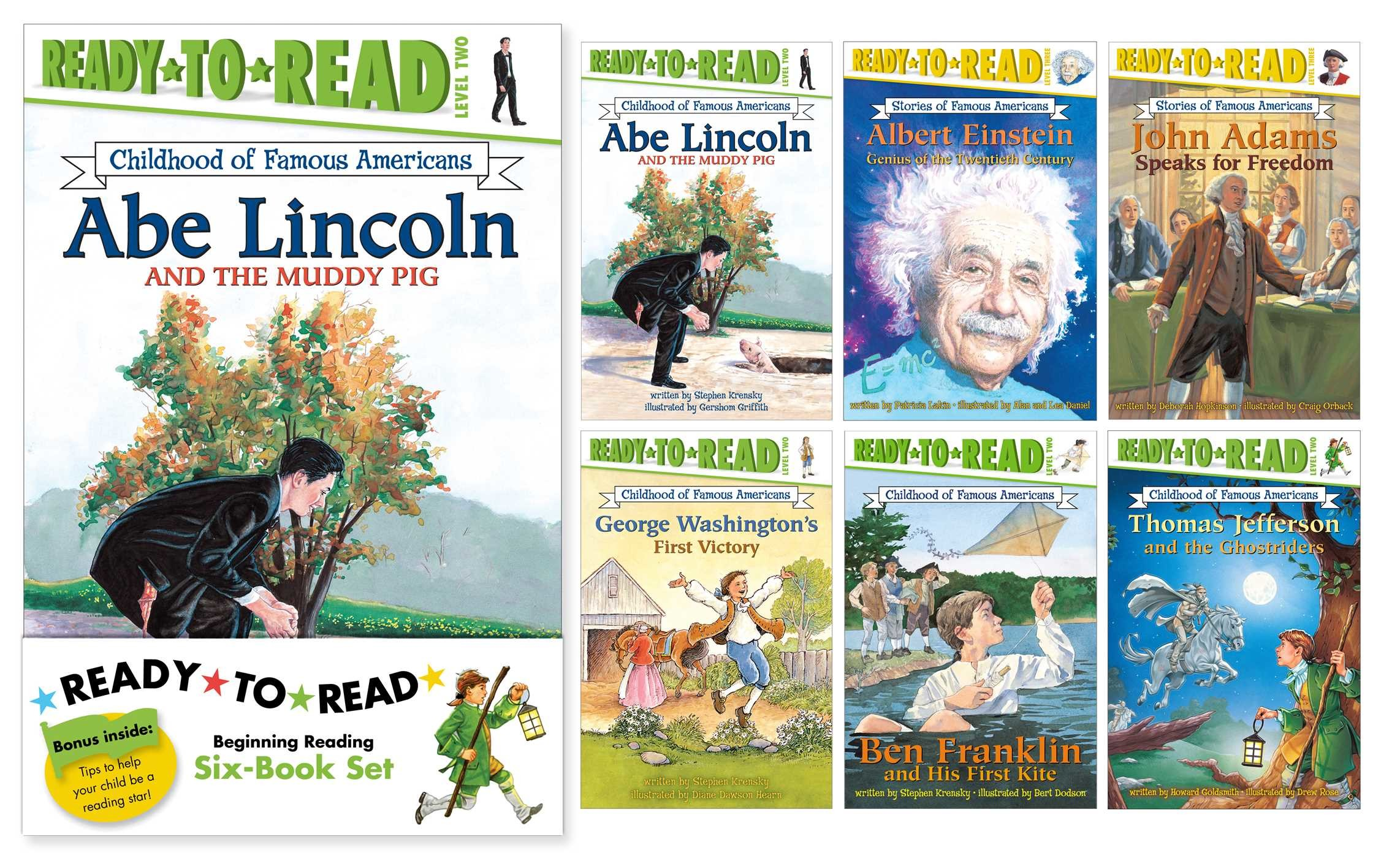 Childhood of famous americans ready to read value pack 9781442494404.in01