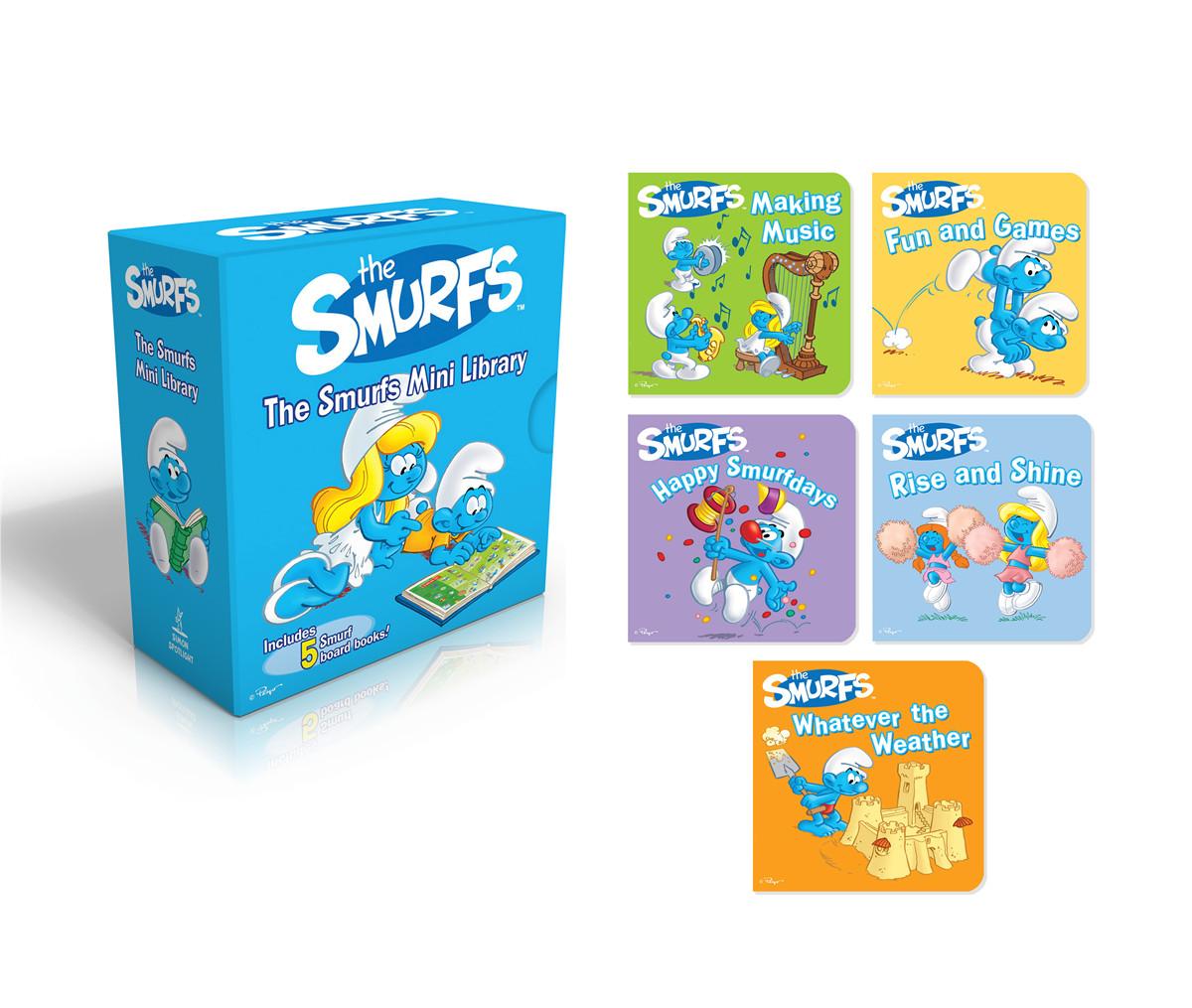 Smurfs mini library 9781442495432.in01