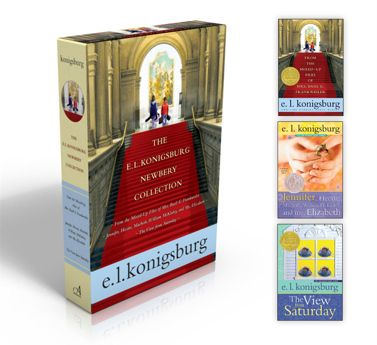 The e l konigsburg newbery collection 9781442497436.in01