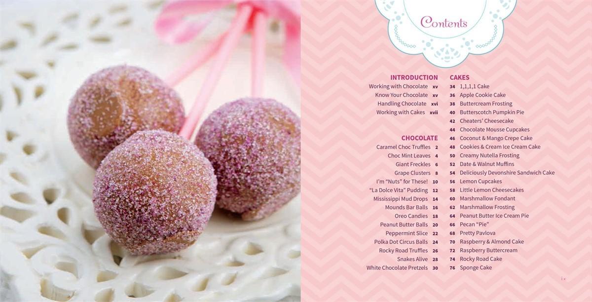 4 ingredients chocolate cakes cute things 9781451635683.in02