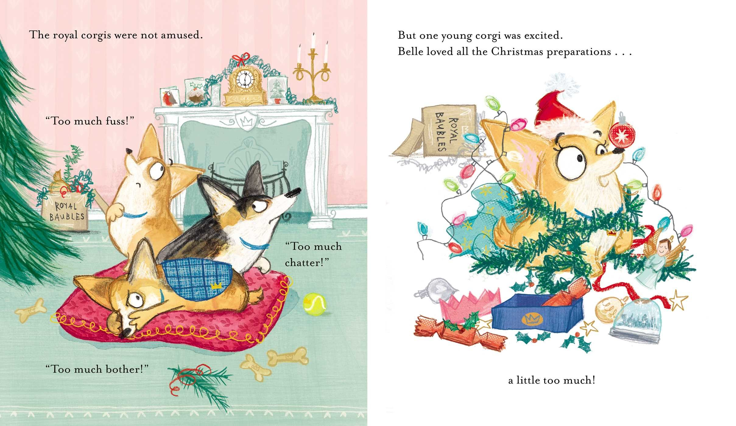 A Very Corgi Christmas | Book by Sam Hay, Loretta Schauer | Official ...