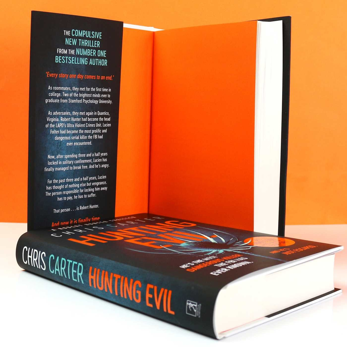 Hunting Evil | Book by Chris Carter | Official Publisher Page