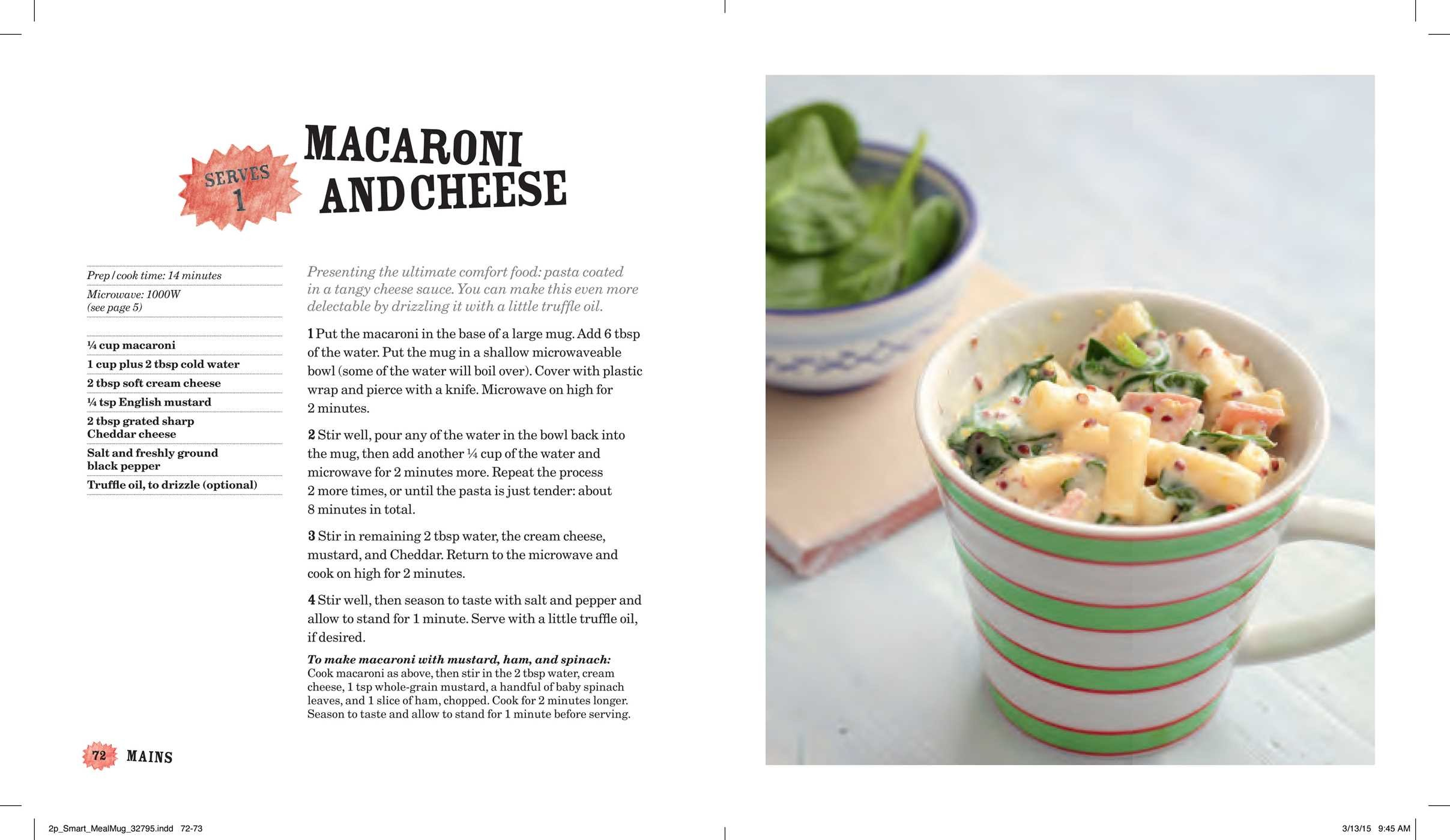Meal in a mug book by denise smart official publisher page meal in a mug 978147679814103 forumfinder Images