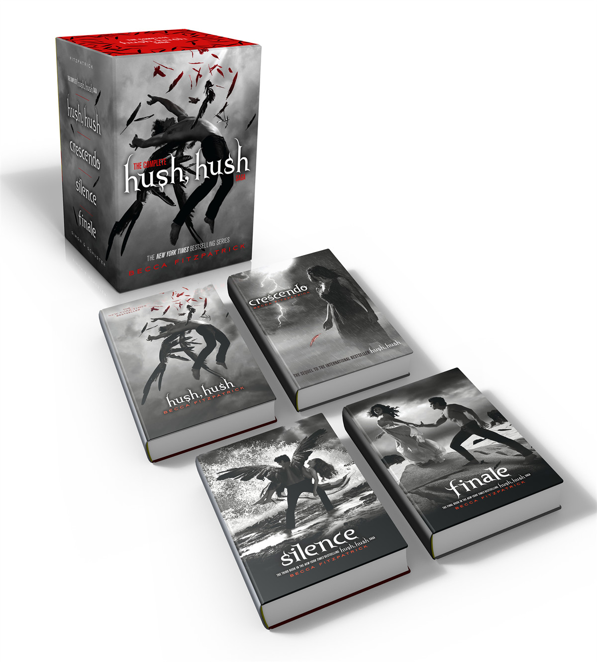 The Complete Hush Hush Saga Book By Becca Fitzpatrick Official