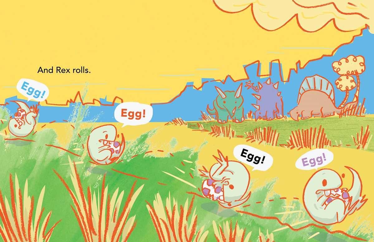 Rex finds an egg! egg! egg! 9781481403085.in04