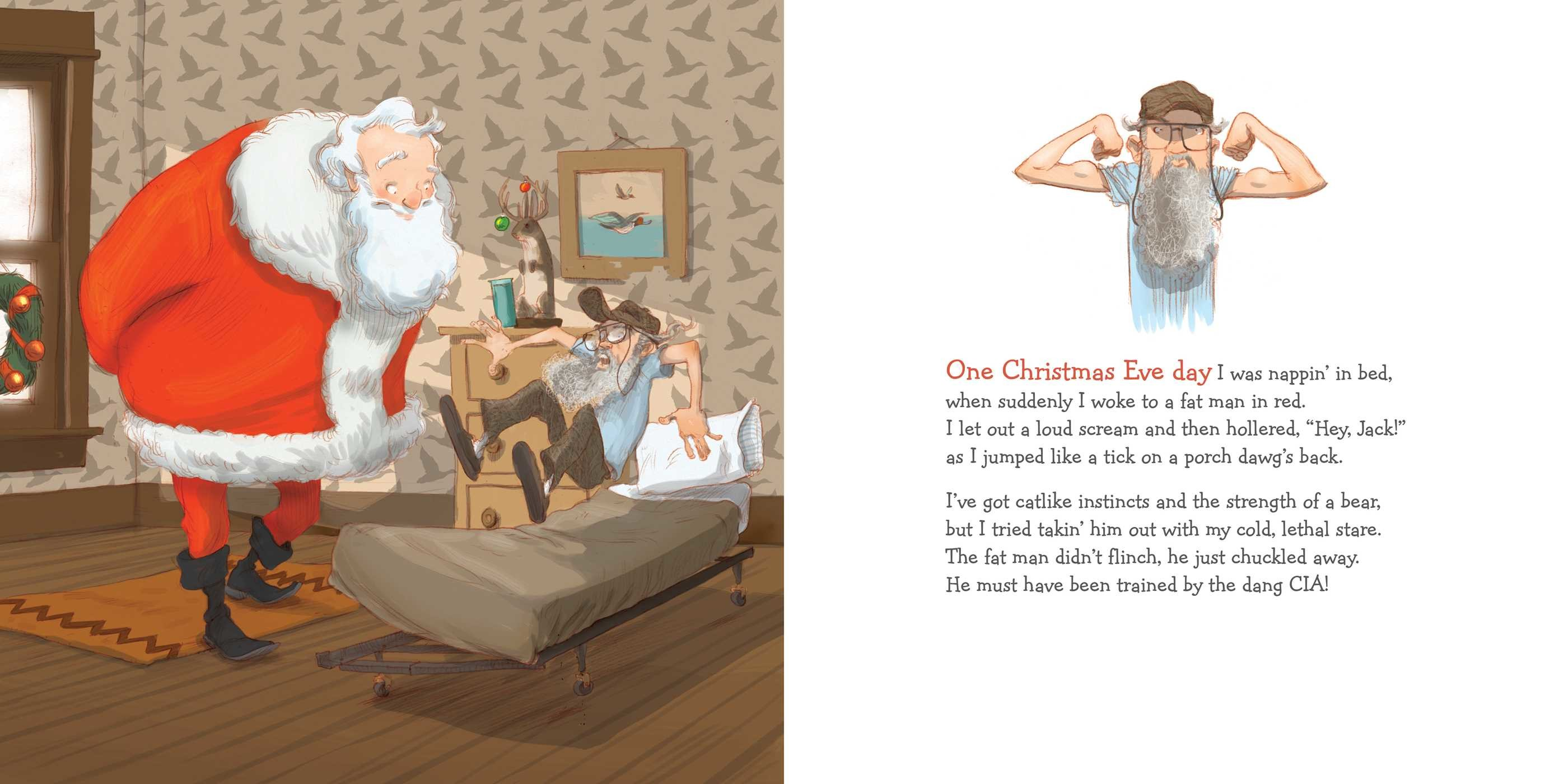 Uncle Si the Christmas Elf | Book by Si Robertson, Ashley Howard ...