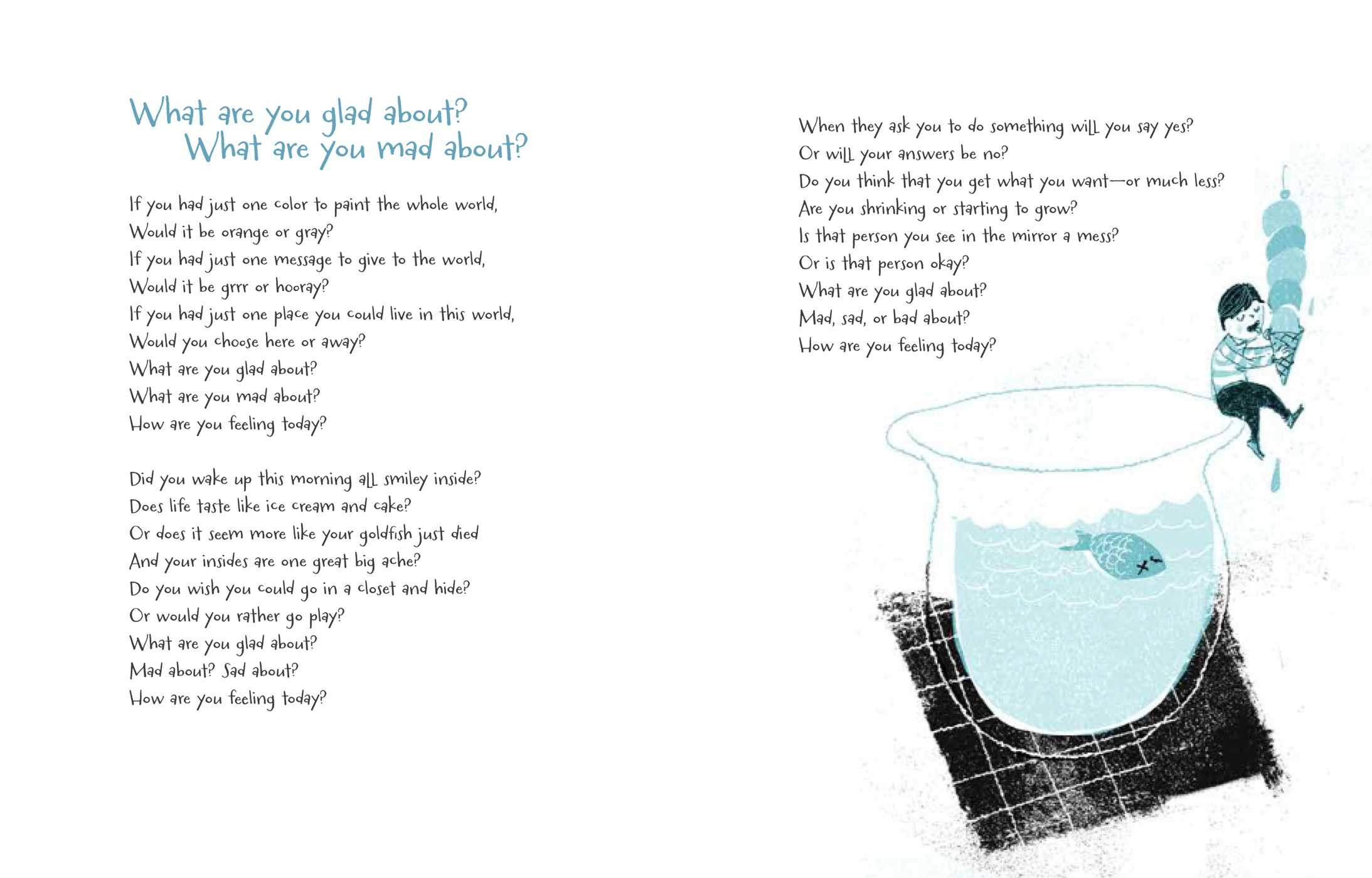 What Are You Glad About? What Are You Mad About? | Book by