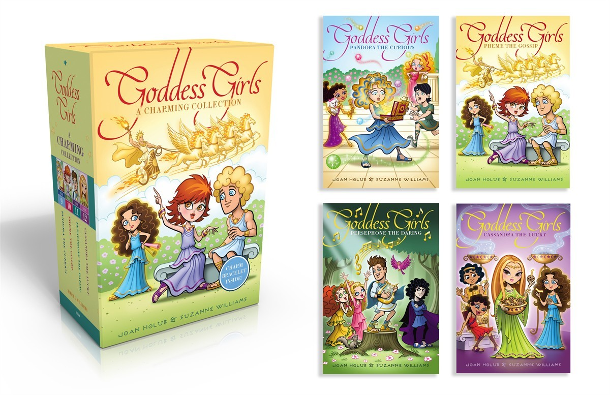 The goddess girls charming collection books 9 12 9781481427302.in01
