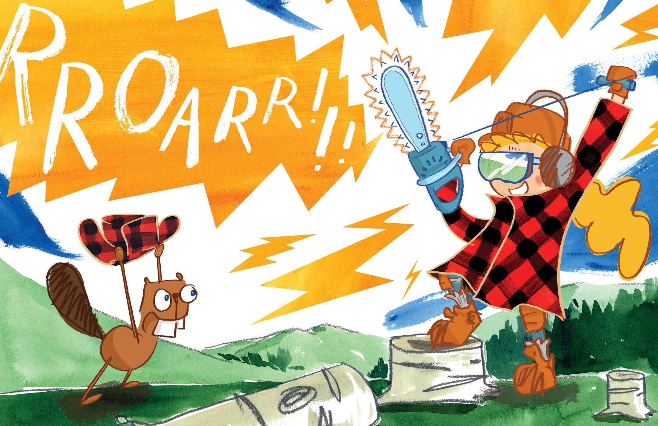 Fred the lumberjack 9781481429832.in03