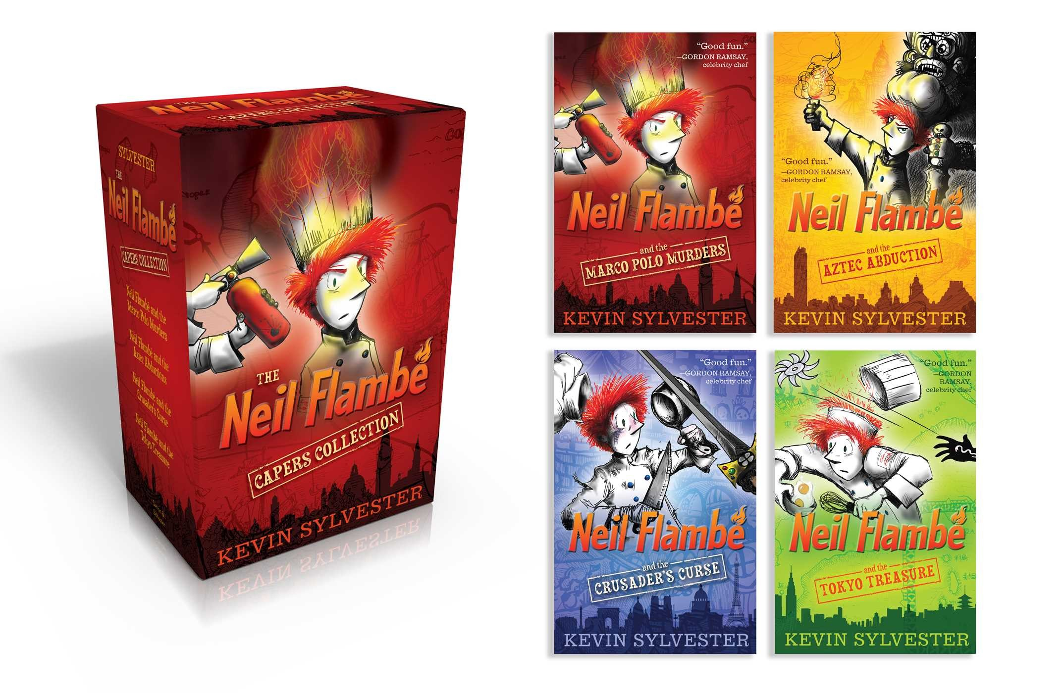 The neil flambe capers collection 9781481432382.in01