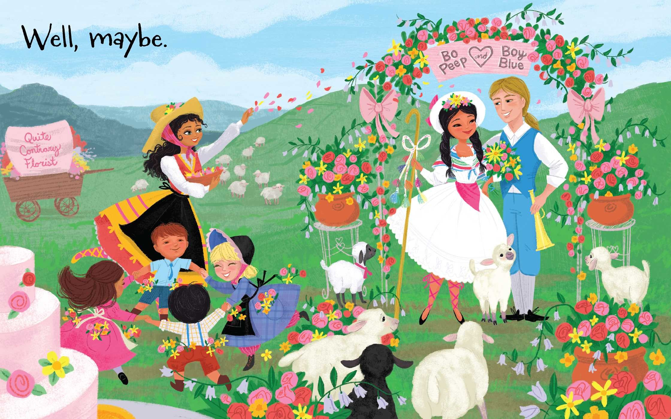 Maybe mother goose book by esm raji codell elisa chavarri maybe mother goose 978148144036304 fandeluxe Gallery