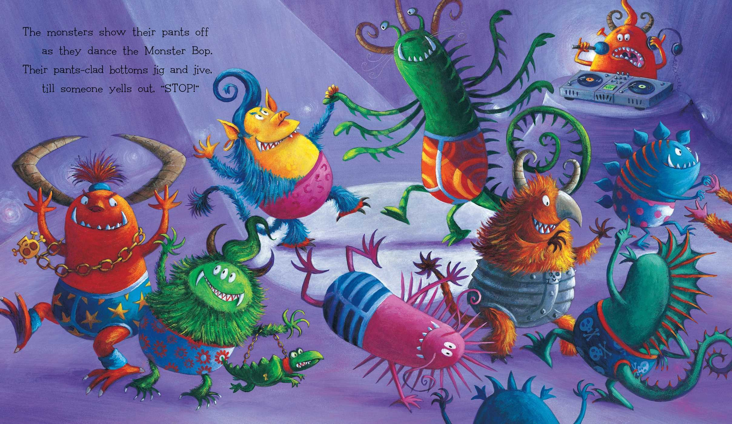 Monsters love underpants book by claire freedman ben cort monsters love underpants 978148144252703 fandeluxe Image collections