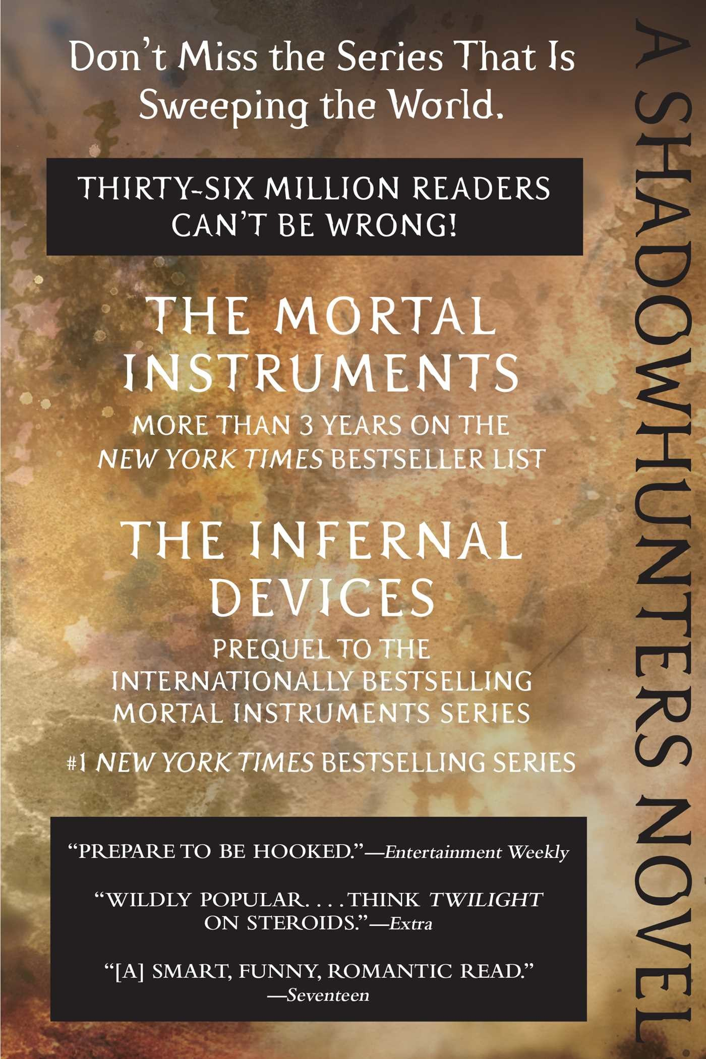 Mortal Instruments Series Ebook