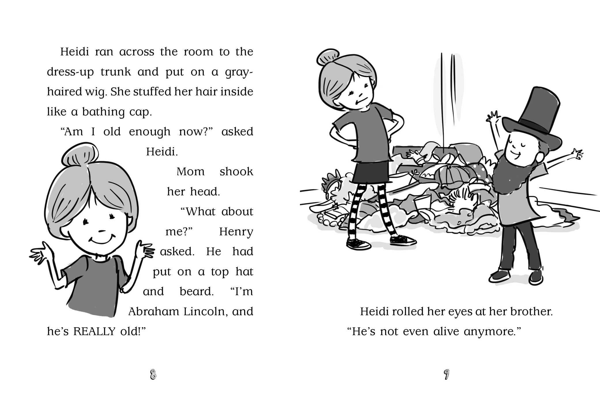 Heidi heckelbeck is the bestest babysitter 9781481446303.in02