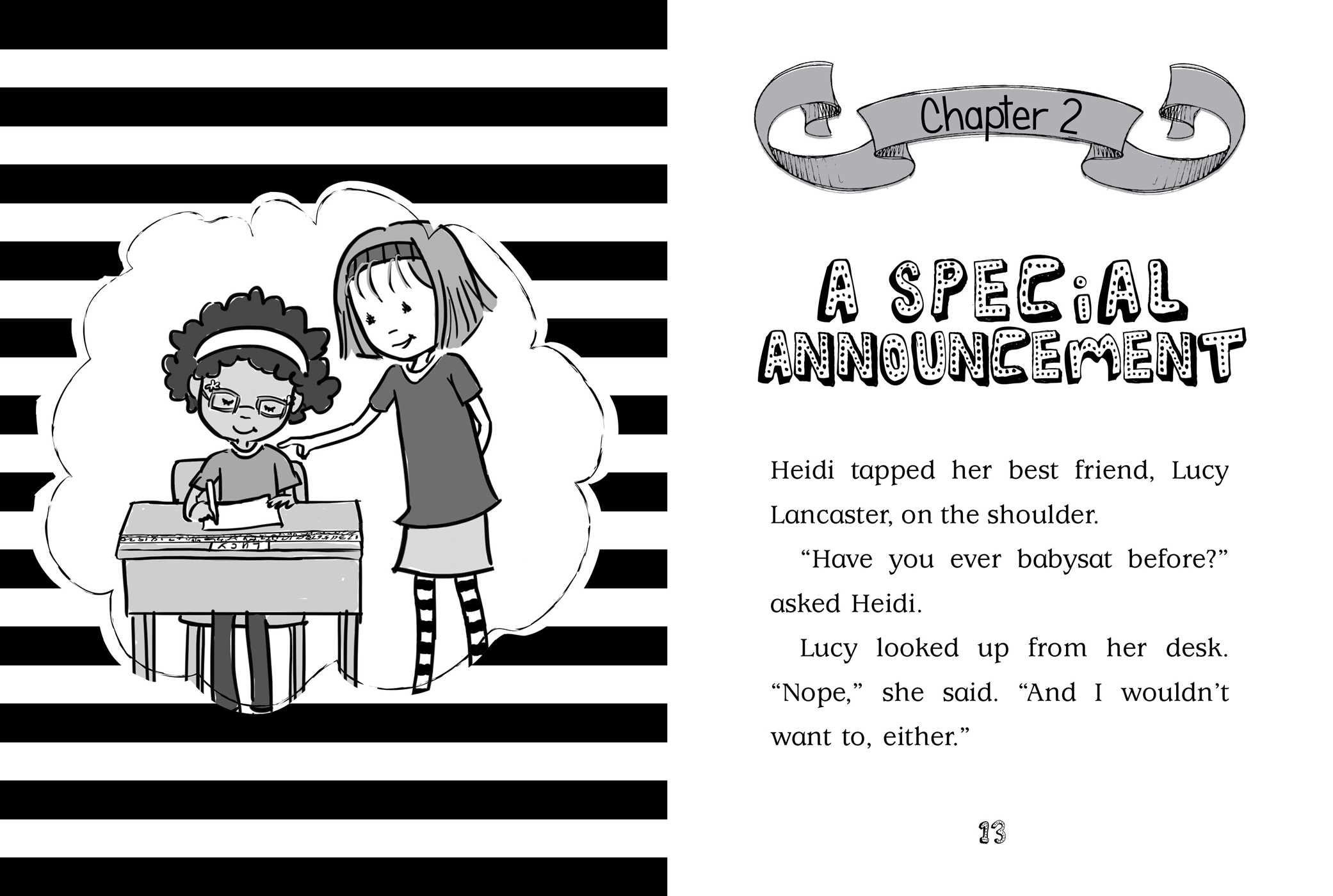 Heidi heckelbeck is the bestest babysitter 9781481446303.in04