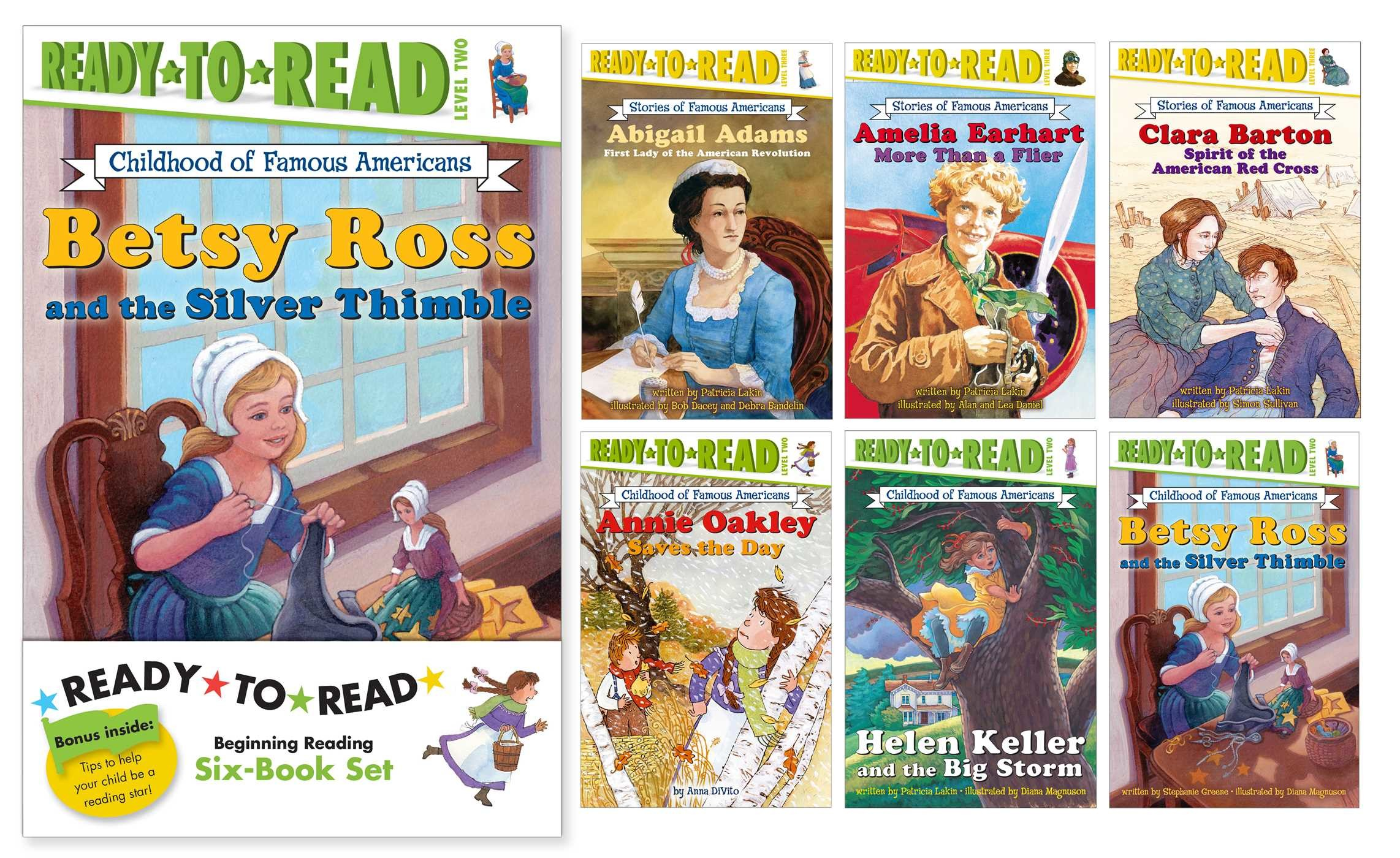 Childhood of famous americans ready to read value pack 2 9781481448284.in01