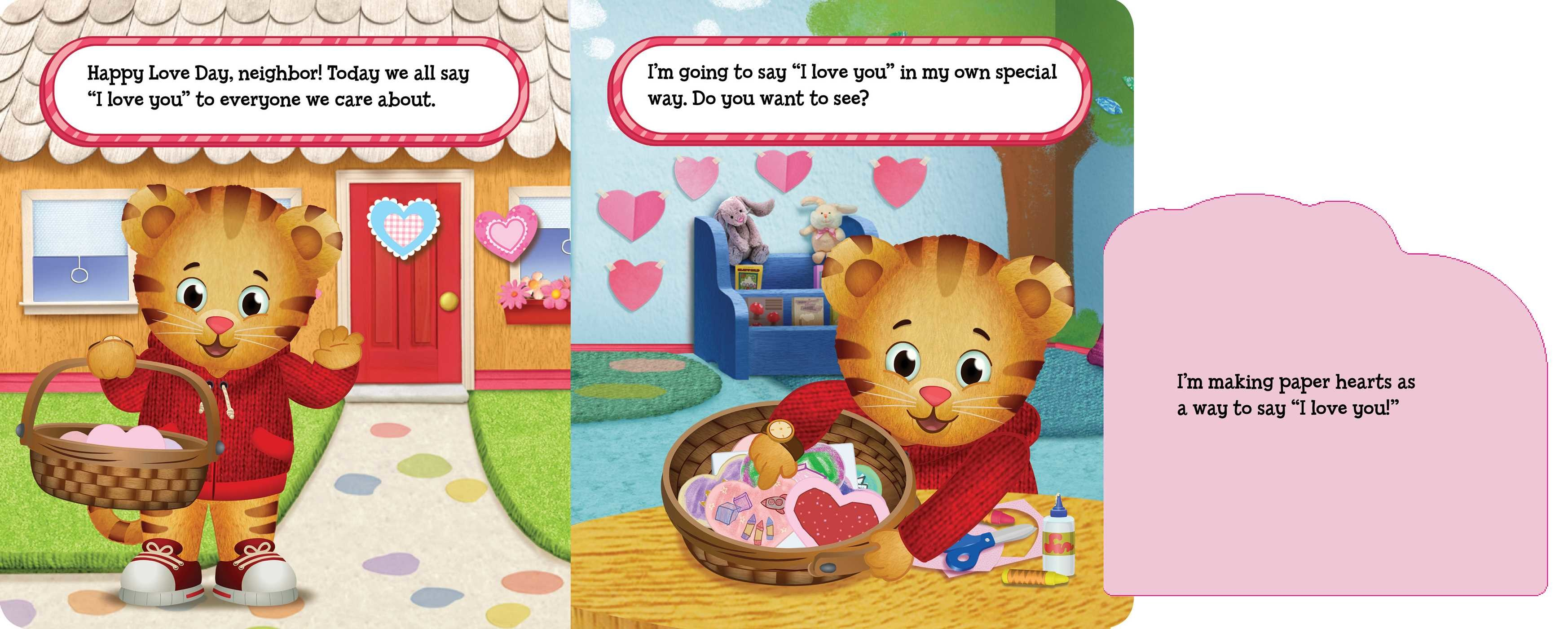 Exceptional ... Happy Love Day Daniel Tiger 9781481448550.in01 ...