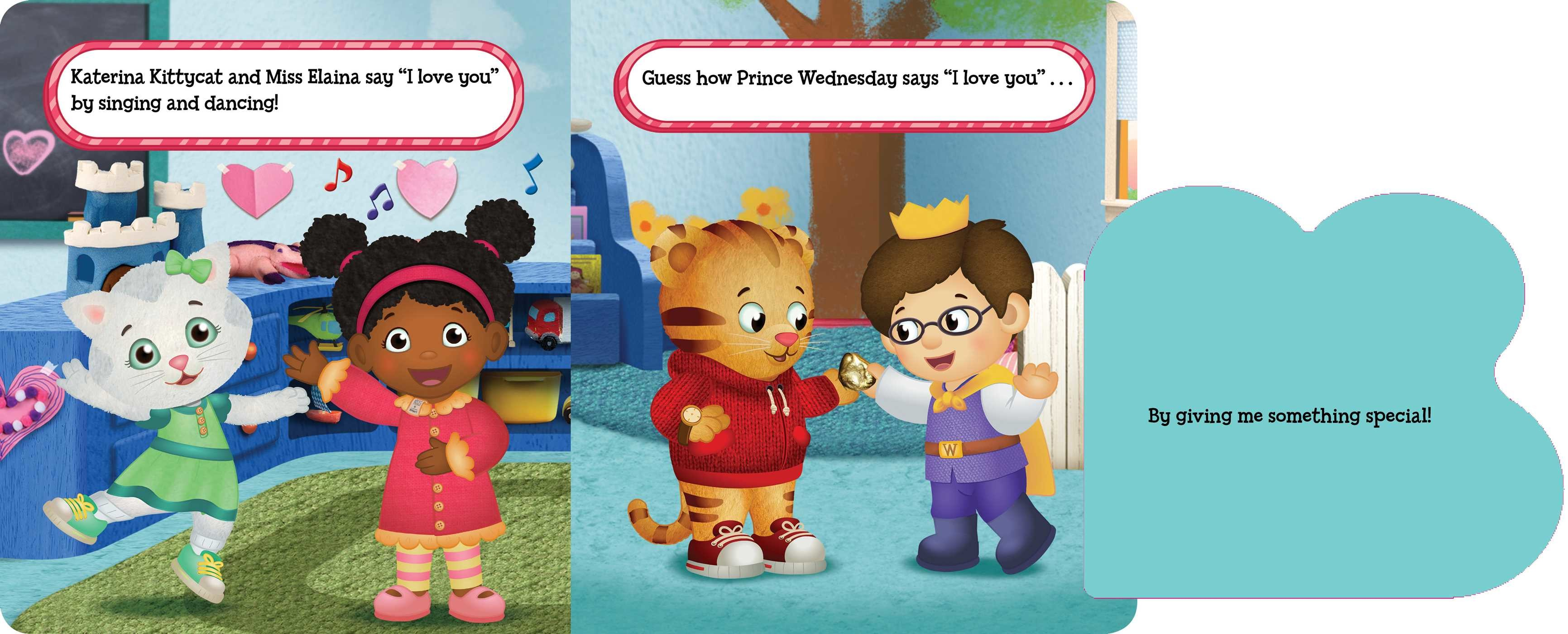 Happy Love Day, Daniel Tiger! | Book by Becky Friedman, Jason ...