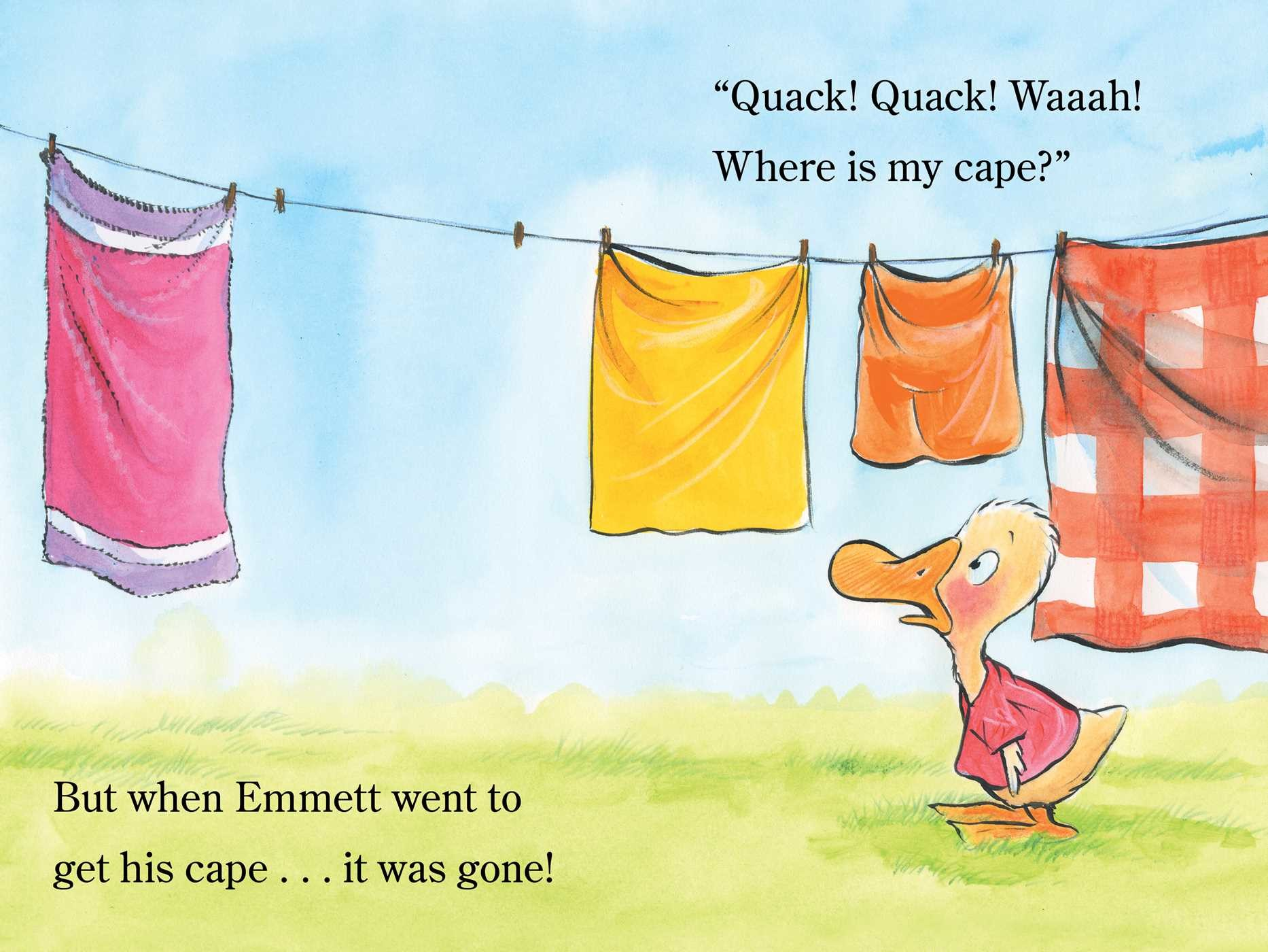 Emmett and the bright blue cape 9781481458696.in06