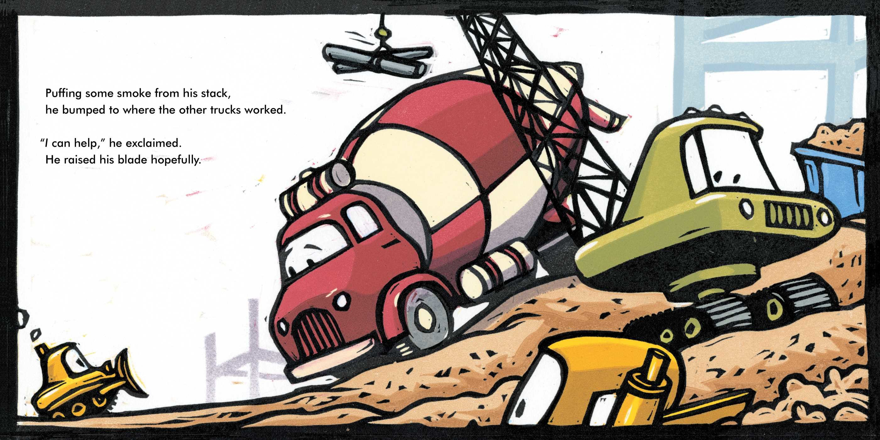 Bulldozer helps out 9781481458948.in01