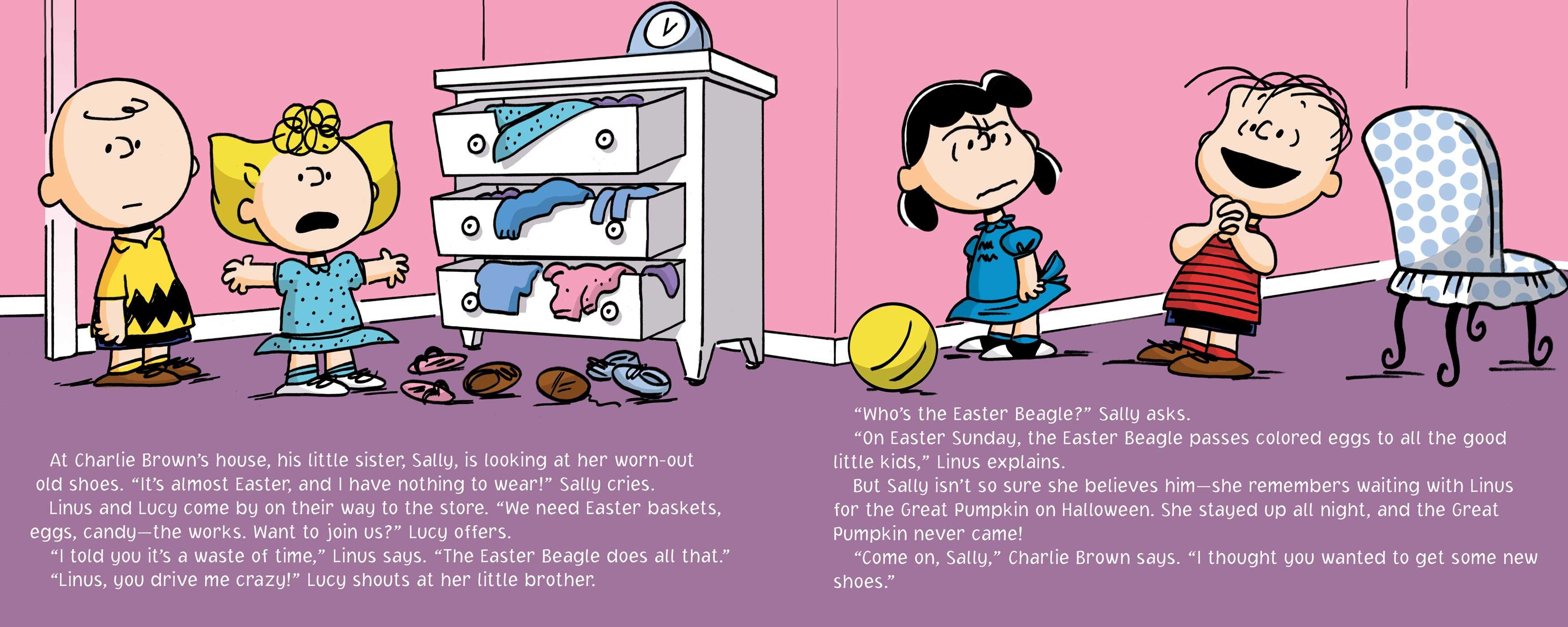 It S The Easter Beagle Charlie Brown Book By Charles M