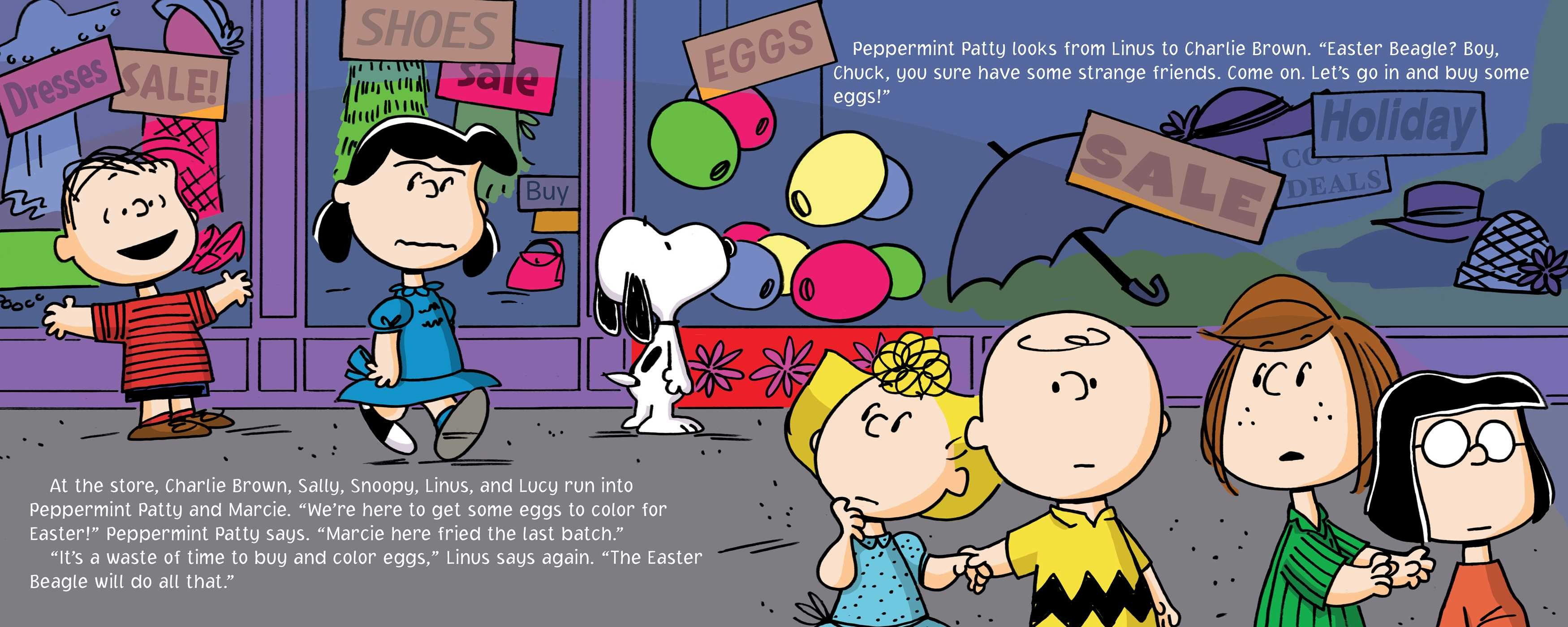 It's the Easter Beagle, Charlie Brown | Book by Charles M. Schulz ...