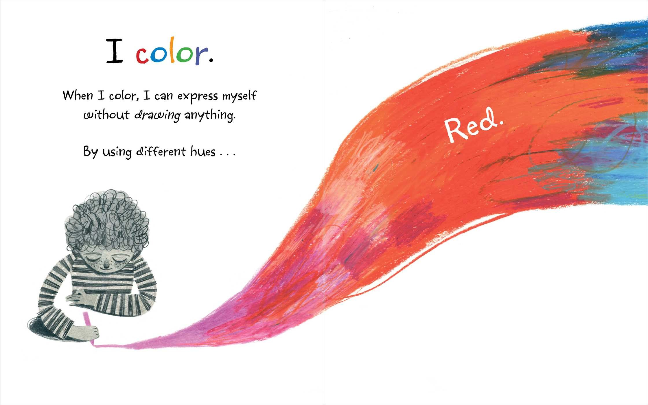 I Don\'t Draw, I Color! | Book by Adam Lehrhaupt, Felicita Sala ...