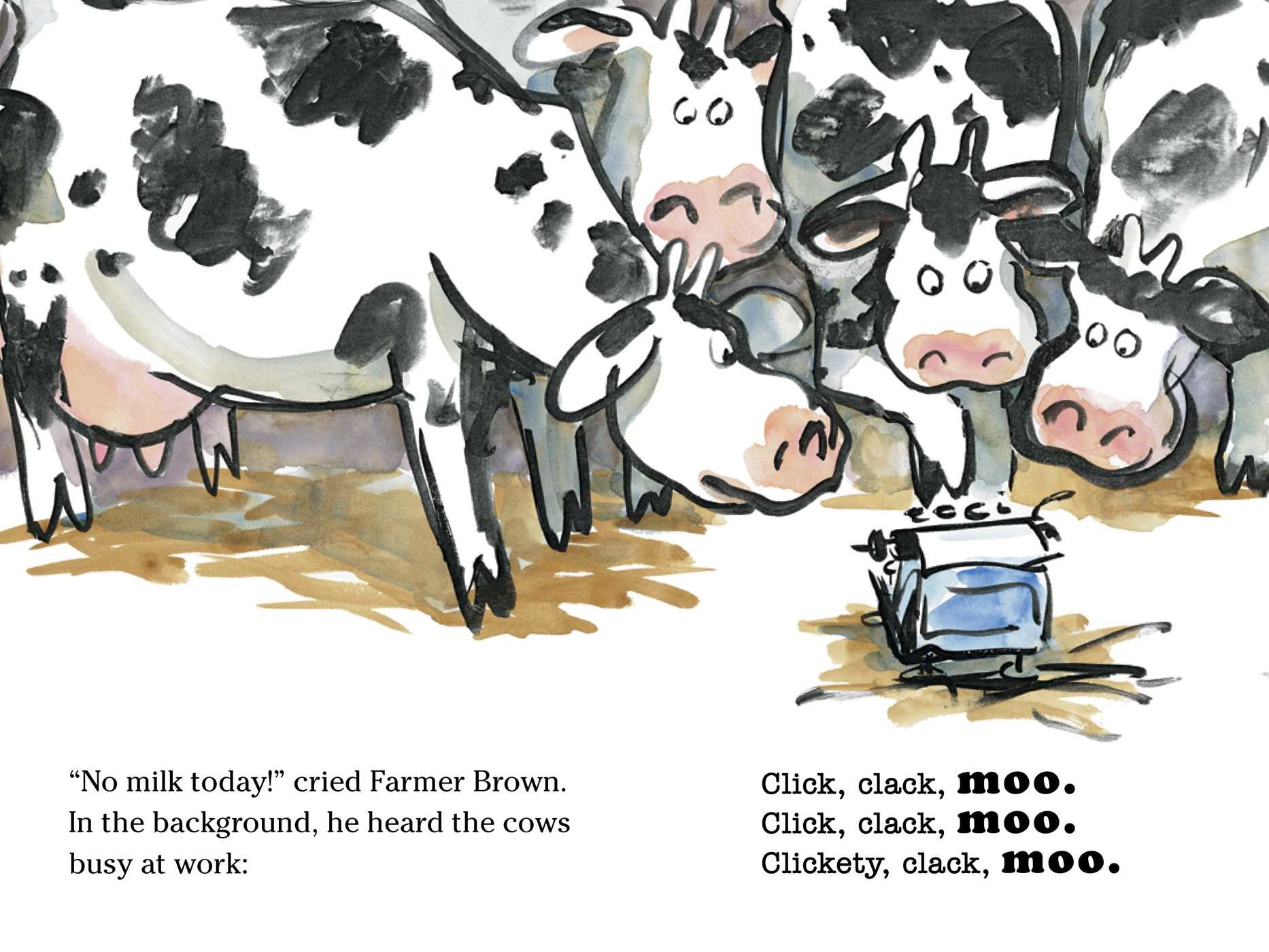 Click Clack Moo | Book by Doreen Cronin, Betsy Lewin | Official ...