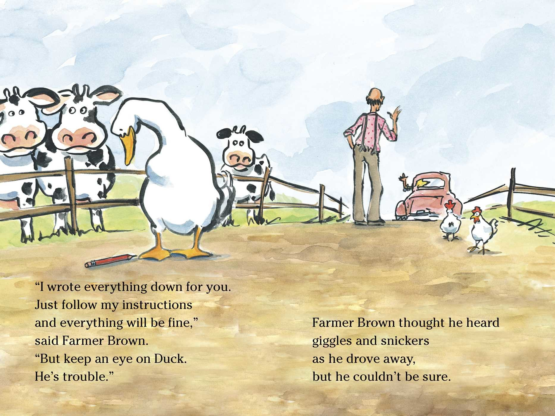 Giggle, Giggle, Quack | Book by Doreen Cronin, Betsy Lewin ...