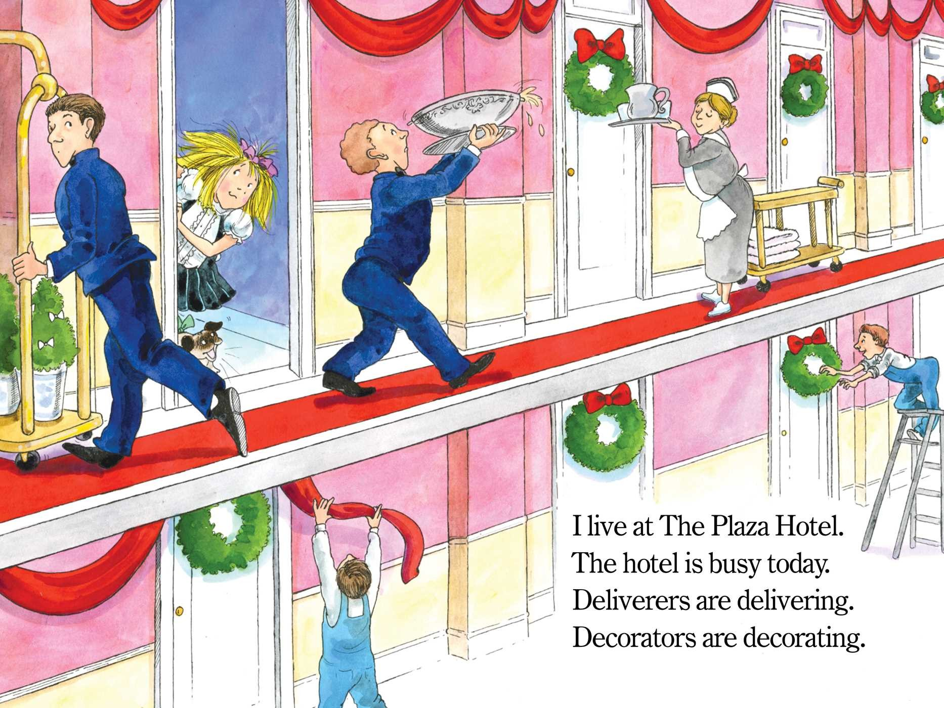 Eloise decorates for christmas 9781481467476.in01