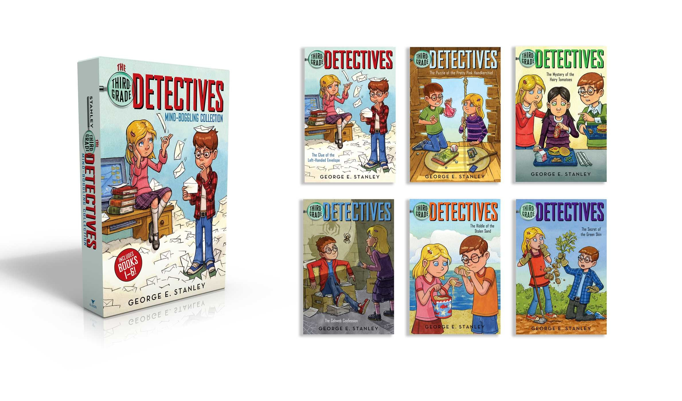 The third grade detectives mind boggling collection 9781481477390.in01