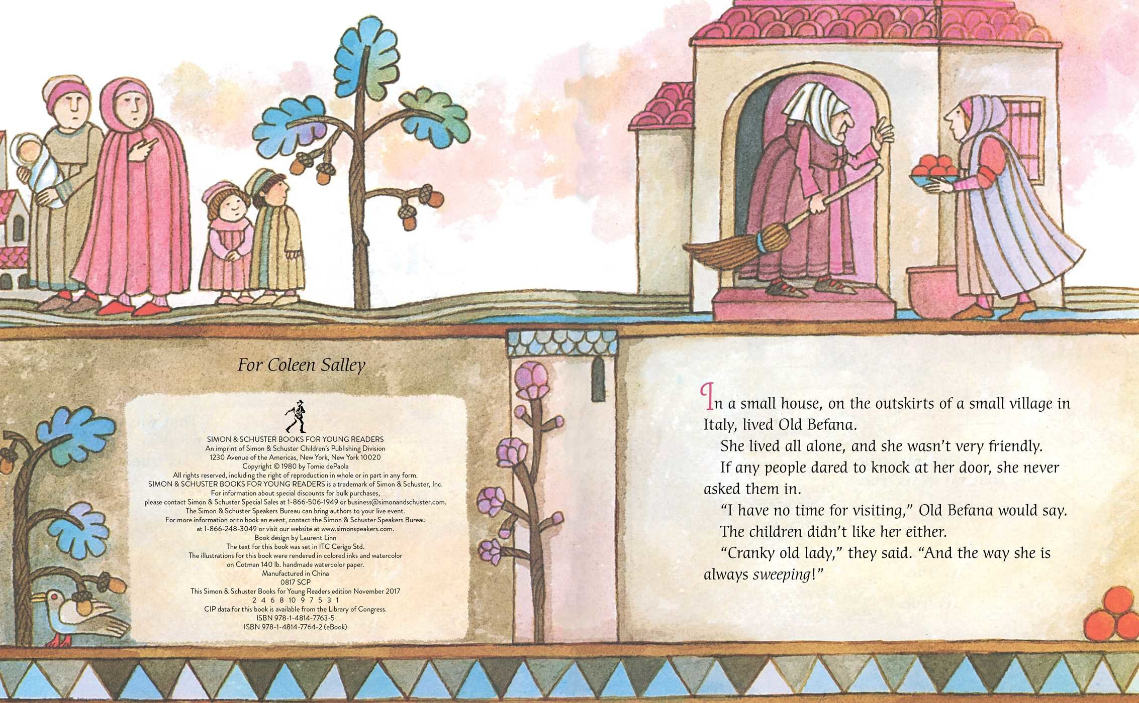 The legend of old befana 9781481477635.in01