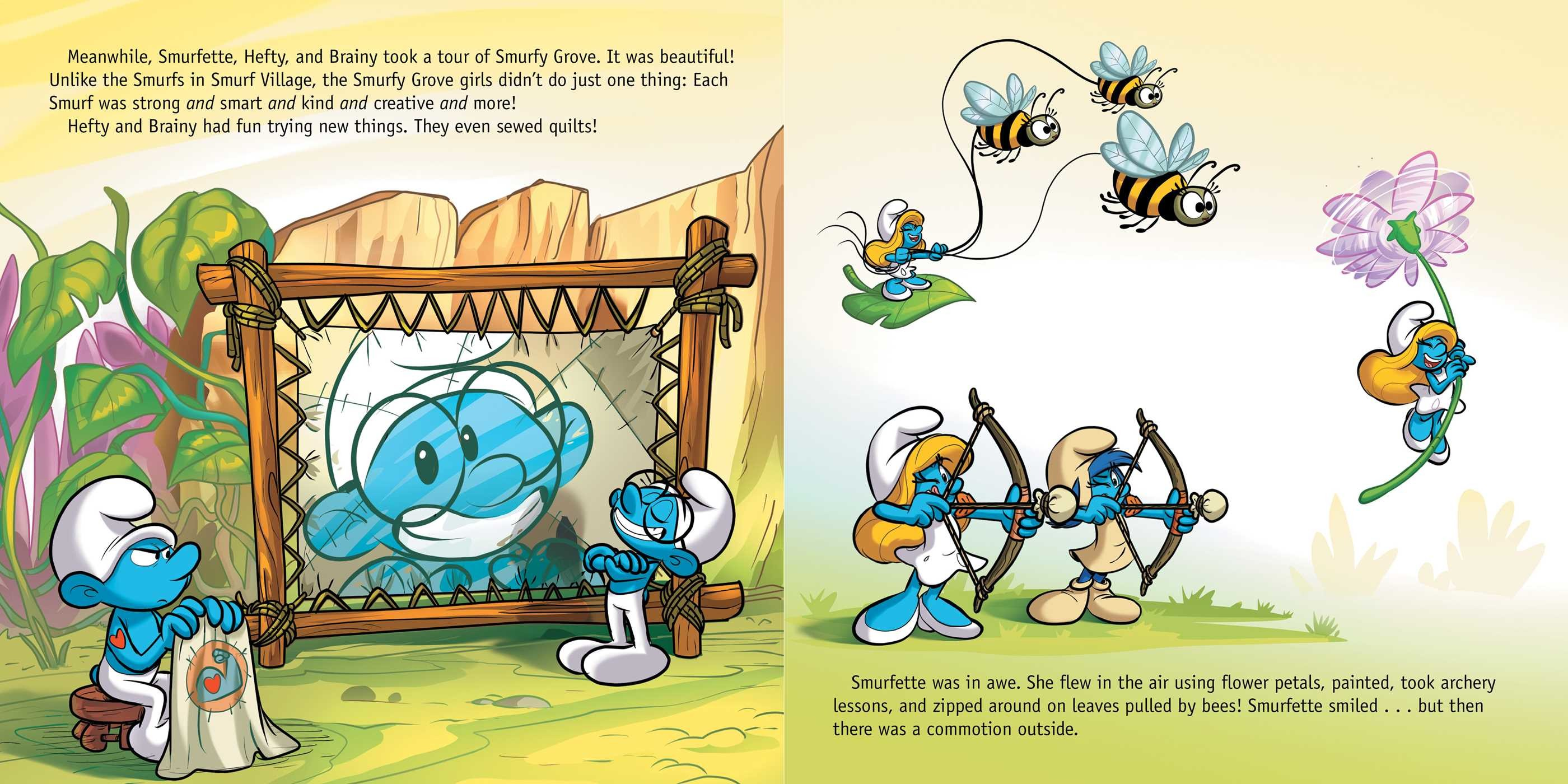 Smurfette and the Lost Village | Book by Daphne ...