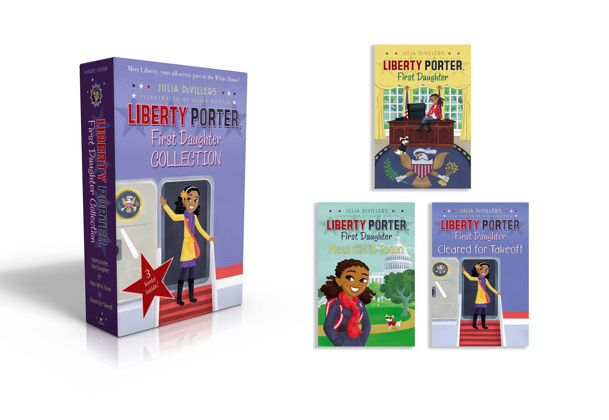 Liberty porter first daughter collection 9781481485425.in01