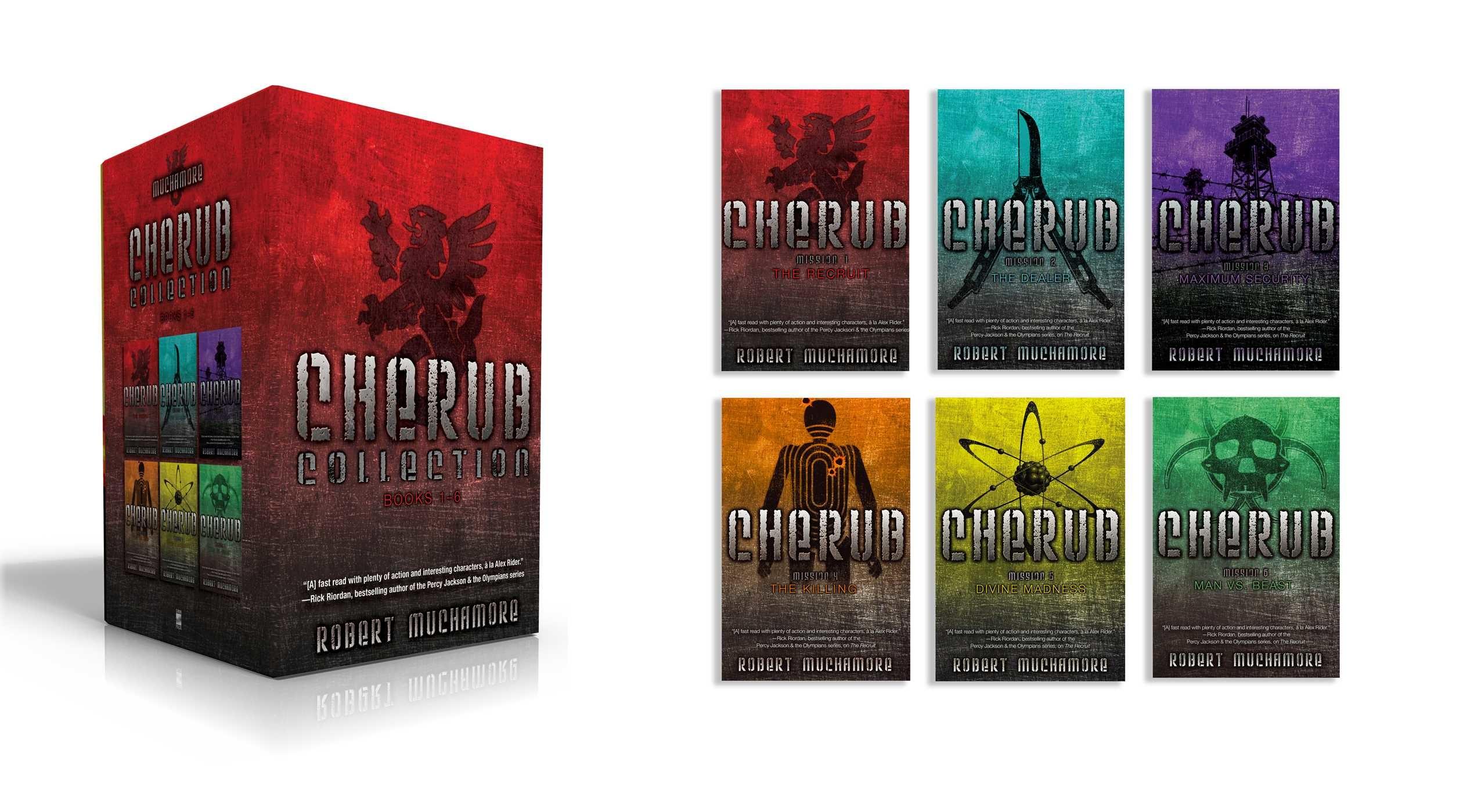 Cherub collection books 1 6 9781481486767.in01