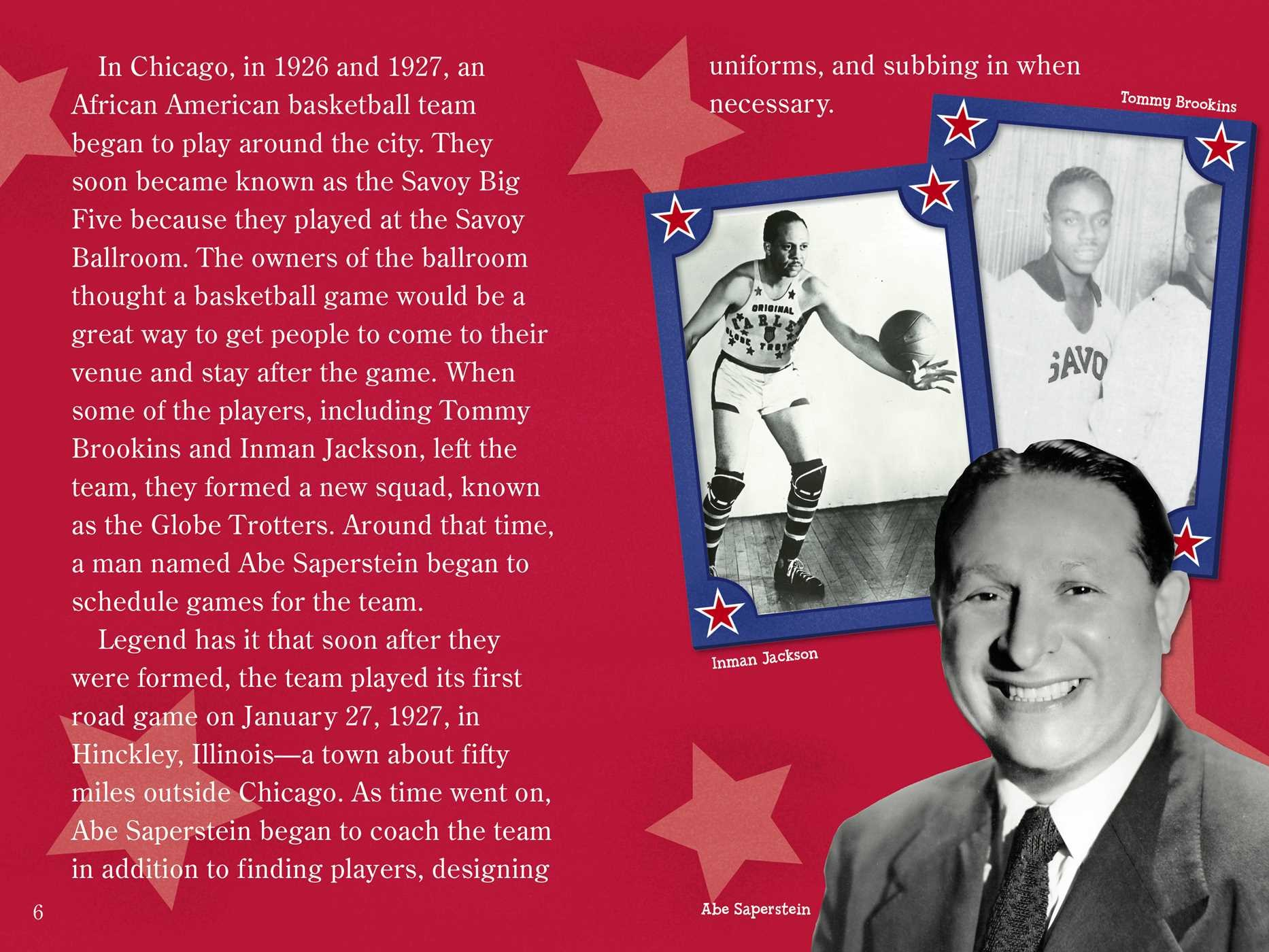 The superstar story of the harlem globetrotters 9781481487481.in01