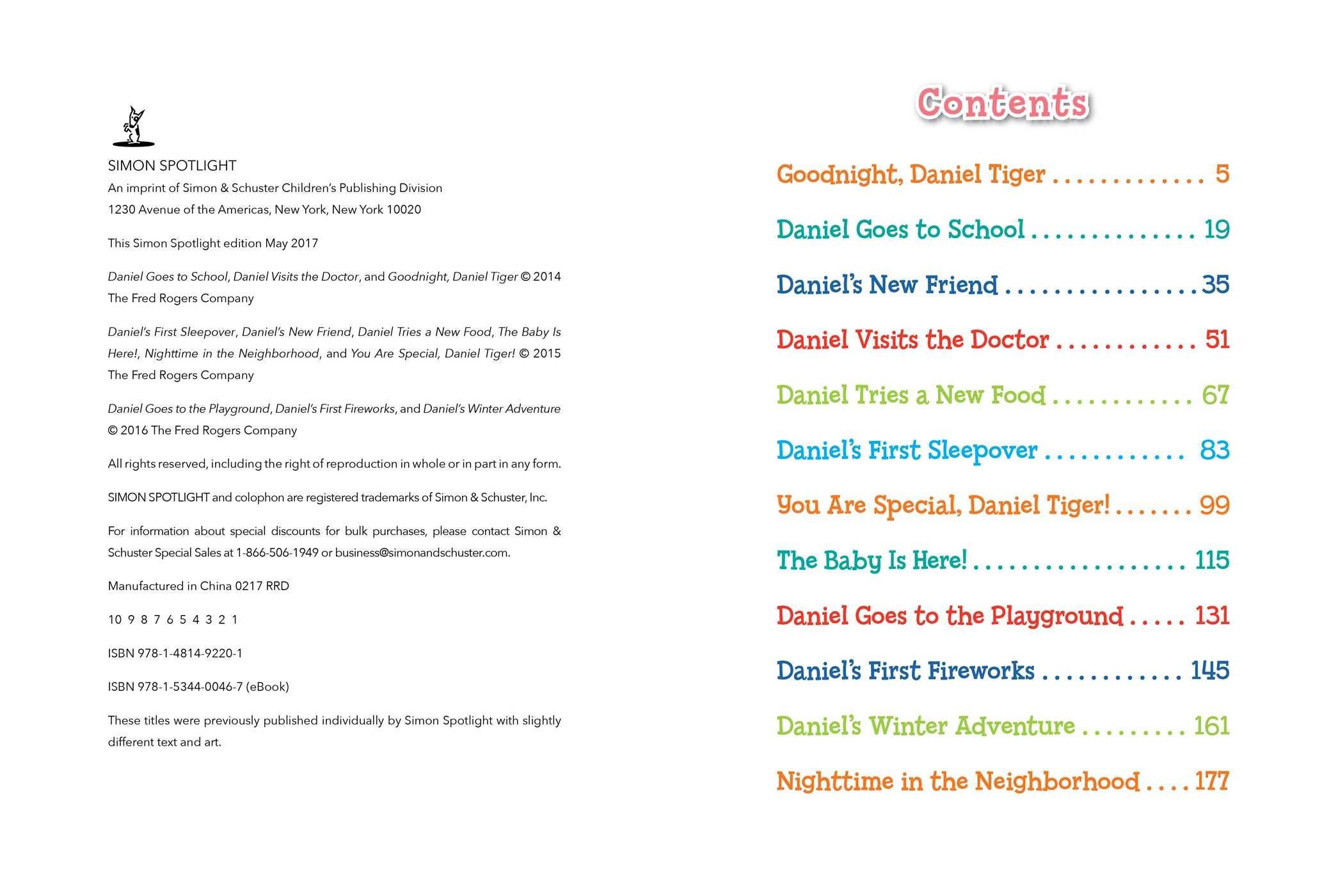 Daniel tigers 5 minute stories 9781481492201.in01