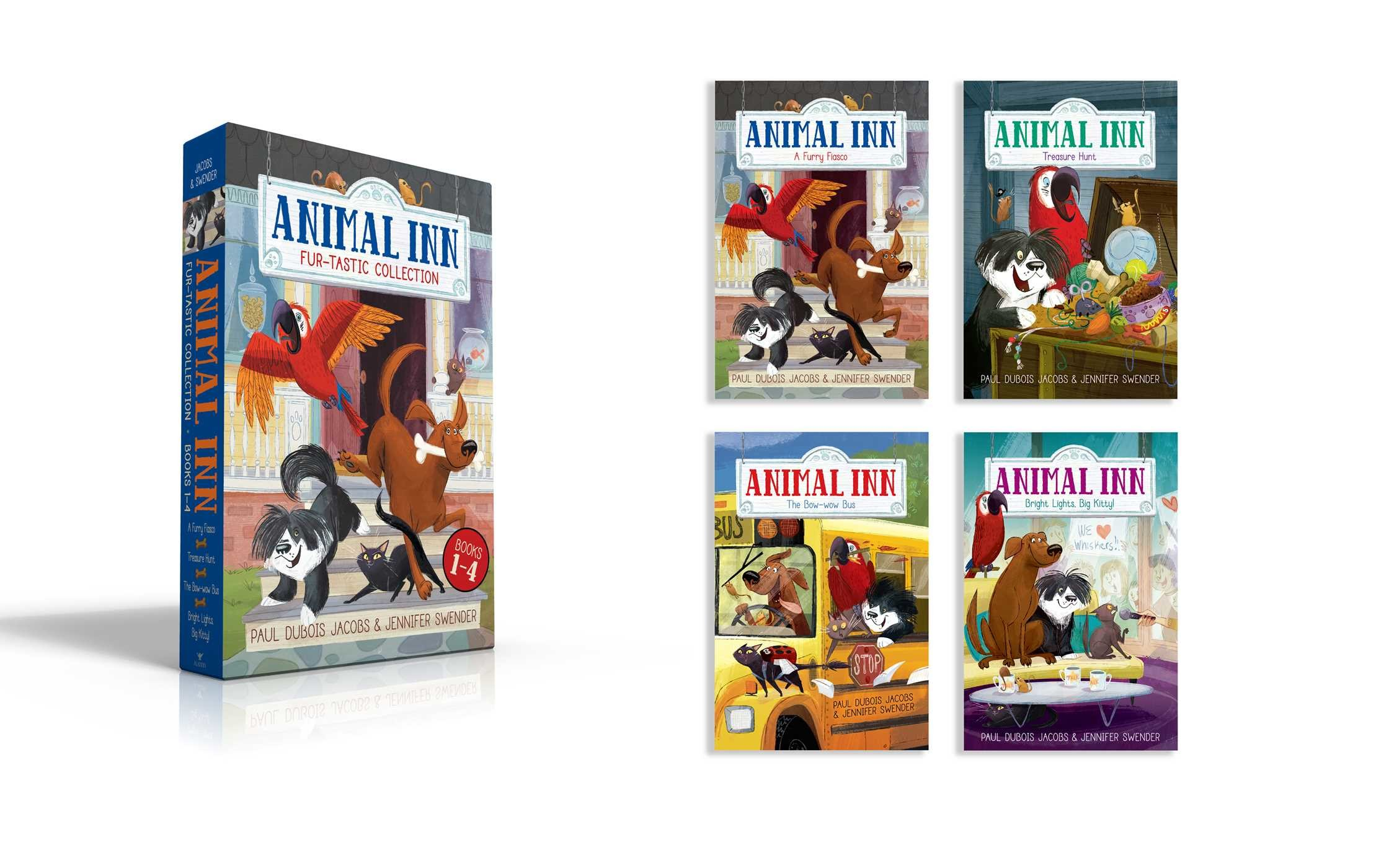 Animal Inn Fur Tastic Collection Books 1 4 9781481496902in01