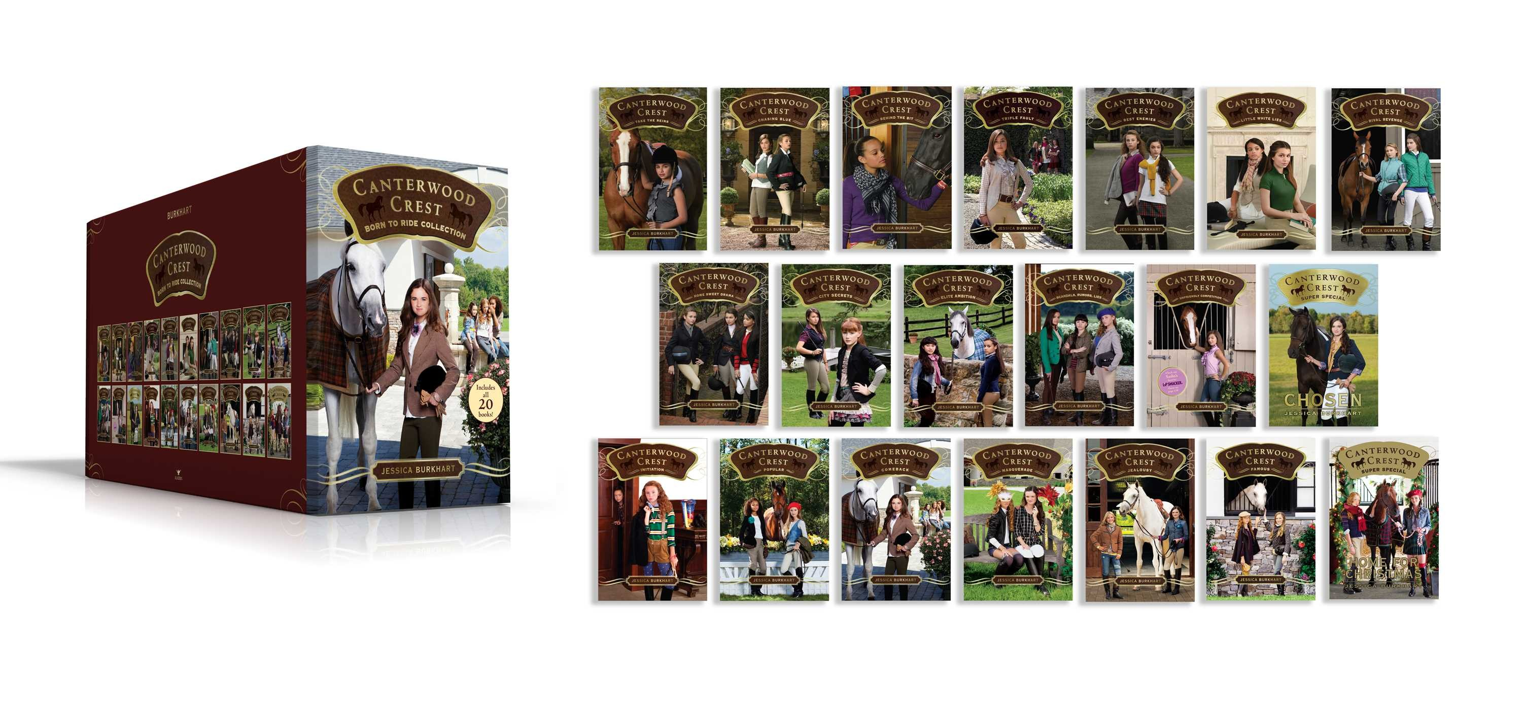 Canterwood crest born to ride collection 9781481496964.in01