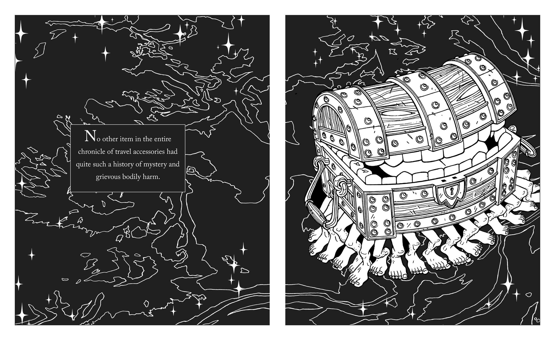 discworld coloring pages | Terry Pratchett's Discworld Coloring Book | Book by Terry ...