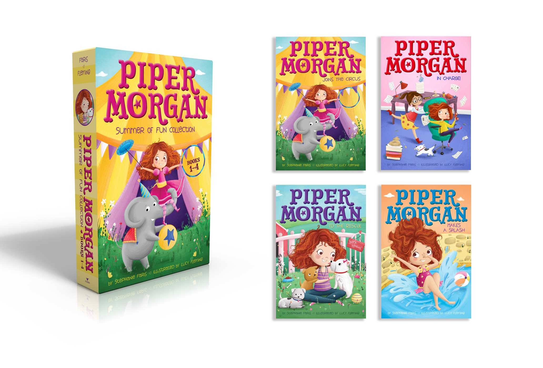 Piper morgan summer of fun collection books 1 4 9781481499781.in01