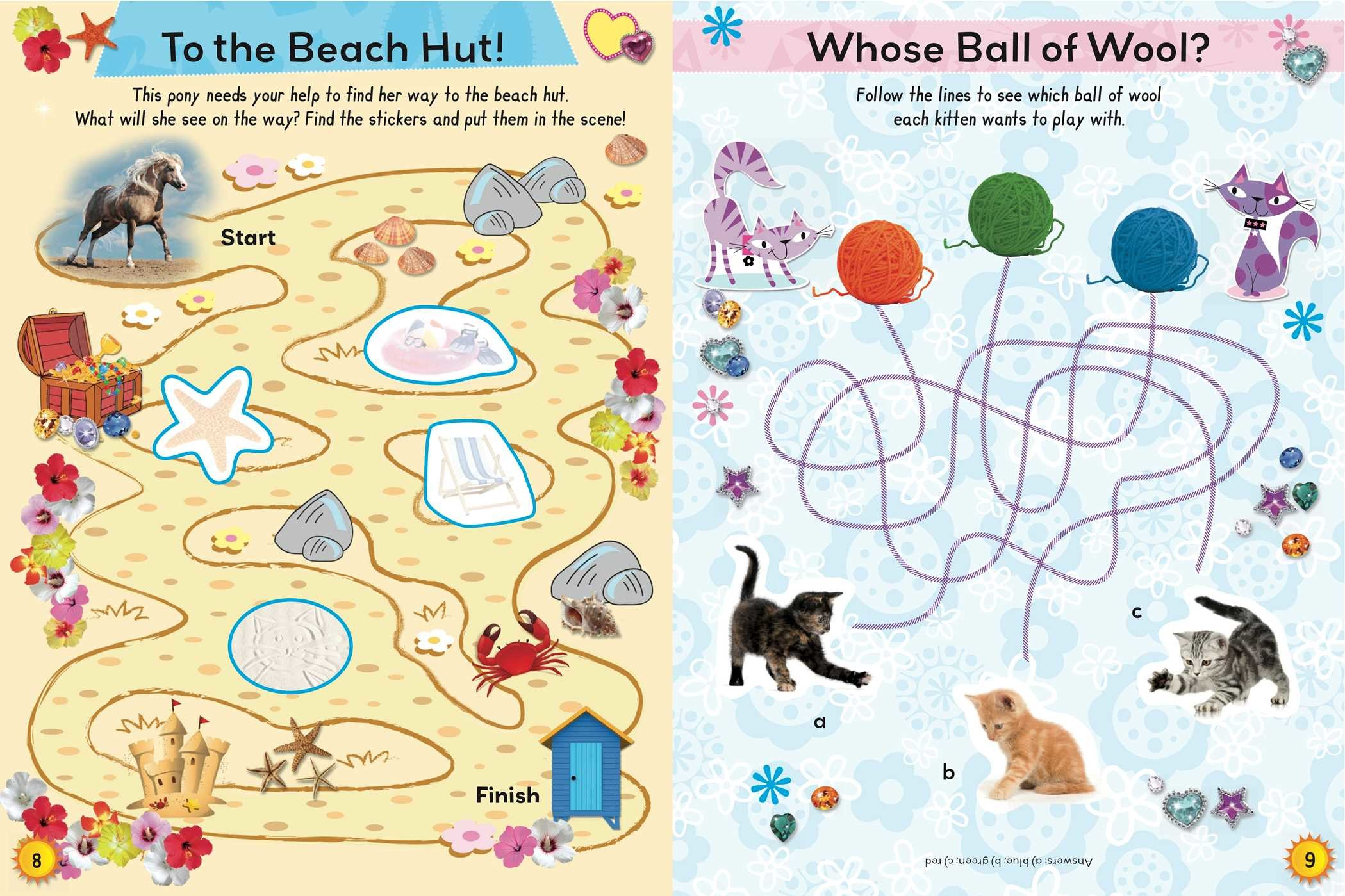 Summer Sticker And Activity Book Book By Honor Head